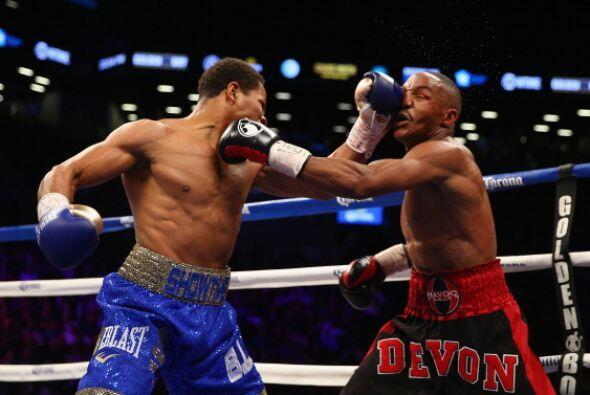 El nuevo campeón puso en malas condiciones a Alexander en varias ocasiones.