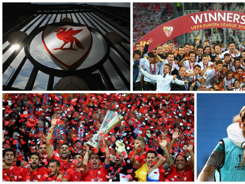 Sevilla es el máximo ganador en la historia de la Europa League,...