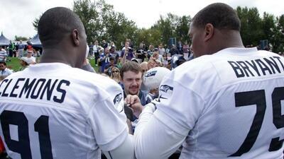 Bajas sensibles en la defensiva de los Seahawks (AP-NFL).