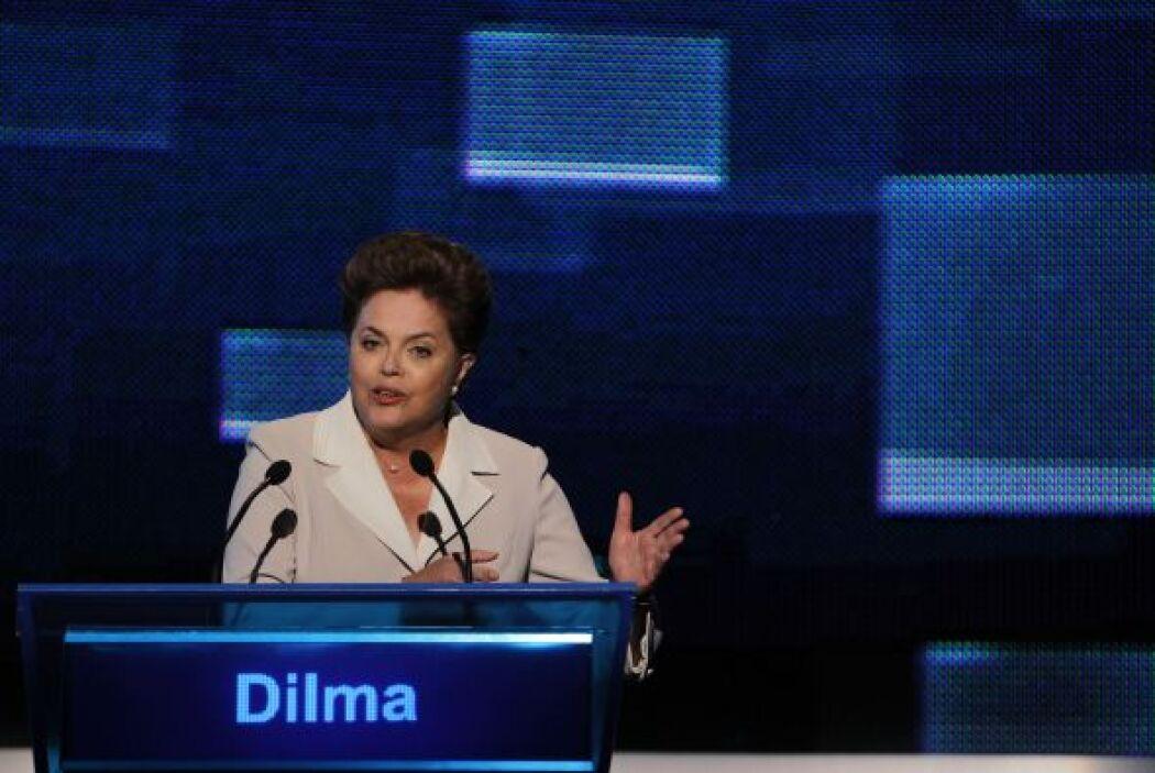 El principal mensaje de la candidata de Lula en el debate de la popular...