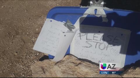 Rescatan a mujer que llevaba perdida cinco días en el desierto
