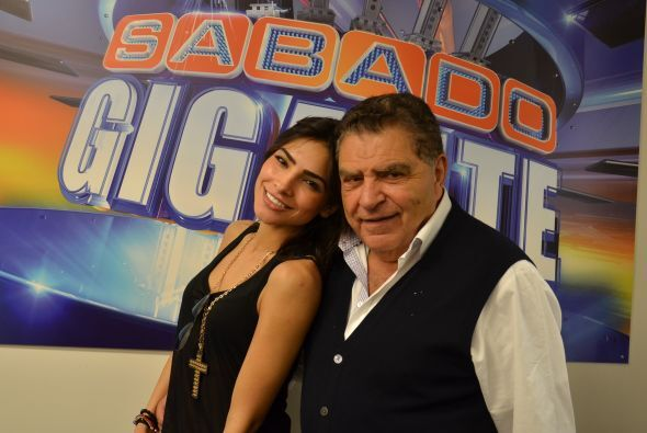 Nuestro amado Don Francisco tiene un gran afecto por Alejandra Espinoza,...