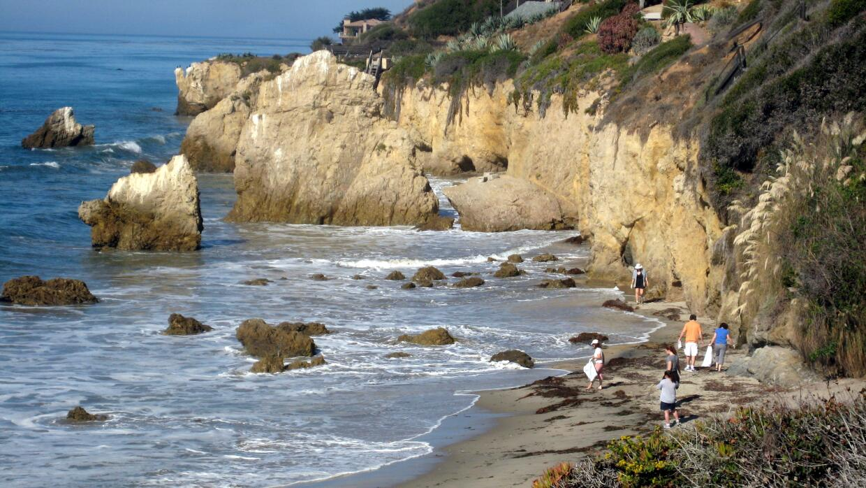 La Playa El Matador en Los Ángeles.