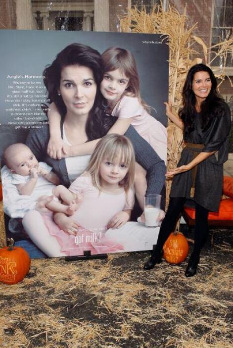 Famosa por series como 'Law & Order', Angie Harmon, ex modelo y mamá de...