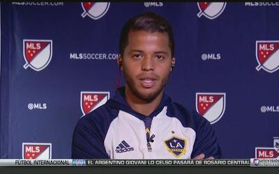 """Giovani Dos Santos: """"Un honor que Donovan hable bien de mí, hubiese quer..."""