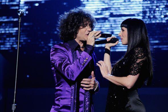 Y cantó al lado de 'La Mala' Rodríguez.