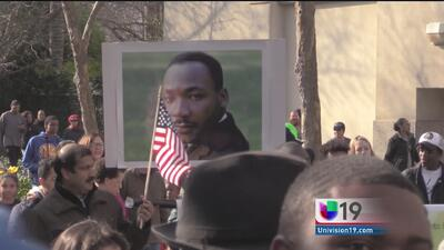 Acto conmemorativo en honor a Martin Luther King Jr. en Sacramento