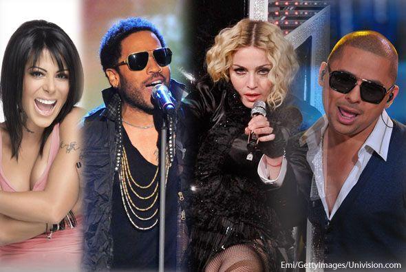 El elenco musical de este año está lleno de artistas internacionales, ta...
