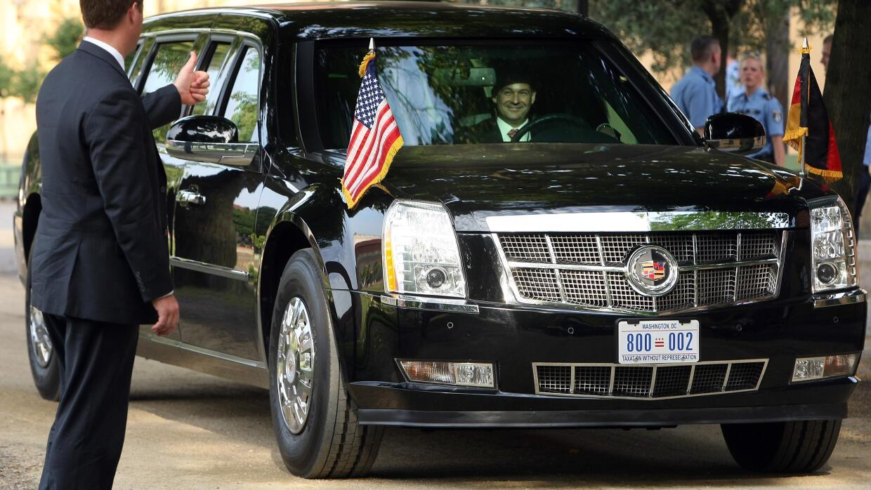 Cadillac presidencial de EEUU