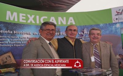 El líder de la Agencia Espacial Mexicana
