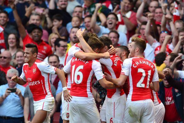 GRUPO D, tiene a la cabeza al siempre candidato Arsenal (Inglaterra) que...