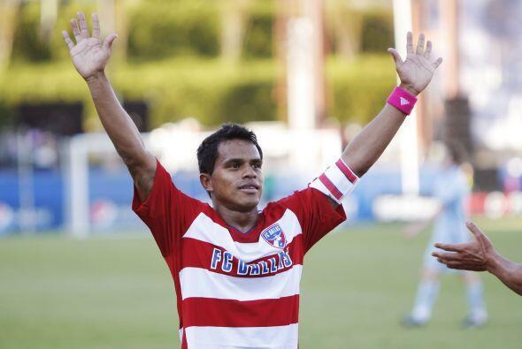 David Ferreira, otro colombiano, sigue en el Dallas FC. La temporada pas...