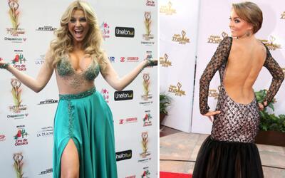 Recuerda a las más sexys de la historia en los Premios TVyNovelas