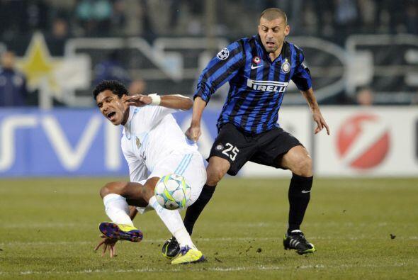 El Inter y el Marsella, dos equipos a la deriva en sus respectivos campe...