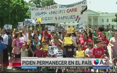 Niños piden quedarse en USA con sus padres
