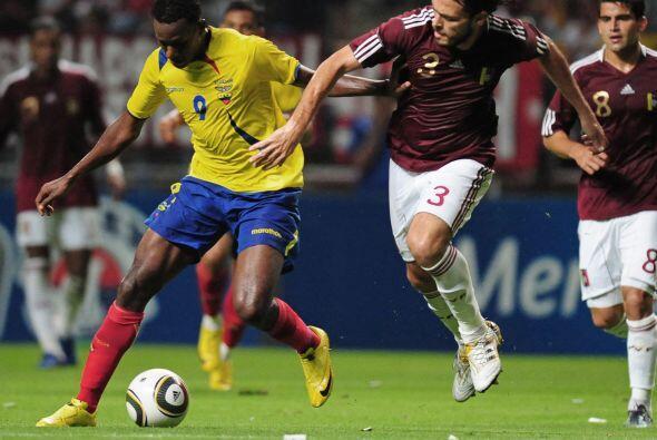 La selección de Venezuela mostró una buena imagen ante Ecu...