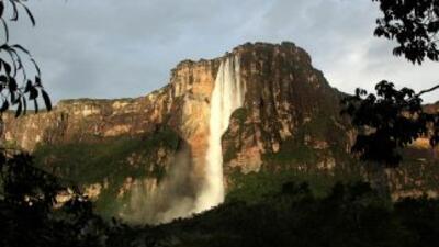 El Parque Nacional de Canaima, en Venezuela.