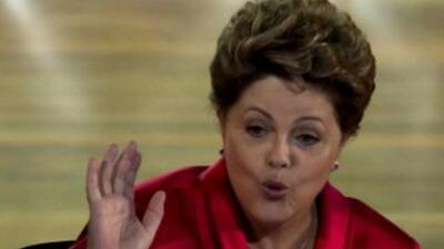 La presidenta de Brasil,Dilma Rousseff.