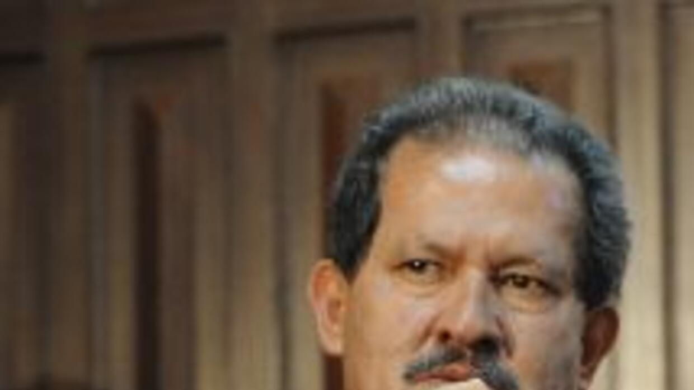 El vicepresidente colombiano Angelino Garzón, dijo que como condición pa...