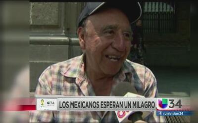 Ciudad México sueña con victoria del Tri