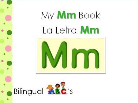 Te traemos otro libro bilingüe para aprender los sonidos de las let...
