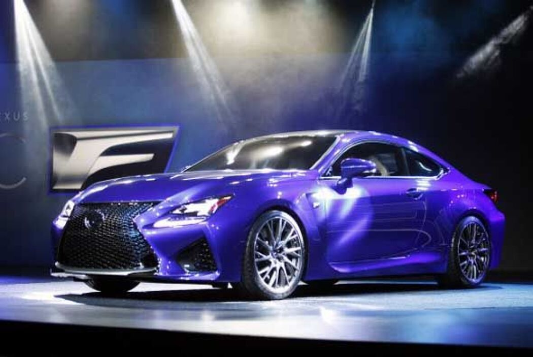 El RCF concept nos muestra el carácter deportivo que Lexus puede tener.