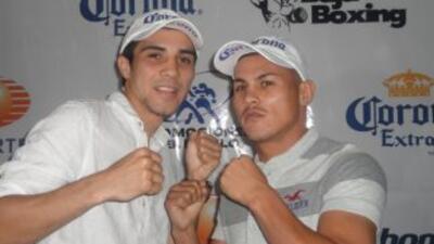 De Marco y Román prometieron una pelea explosiva (Foto: Promociones del...