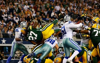 Los Green Bay Packers derrotaron a los Dallas Cowboys en el AT&T Stadium...