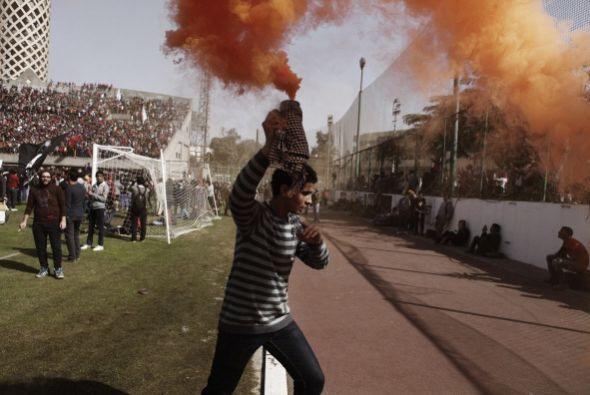El ejército egipcio se desplegó en la ciudad mediterránea de Port Said,...
