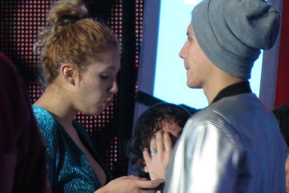 ¡Y mira! Paloma y Fernando otra vez juntitos.