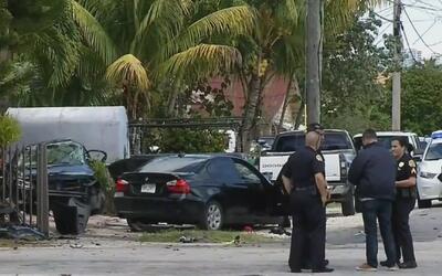 Un muerto y seis heridos deja accidente de tráfico en el suroeste de Miami