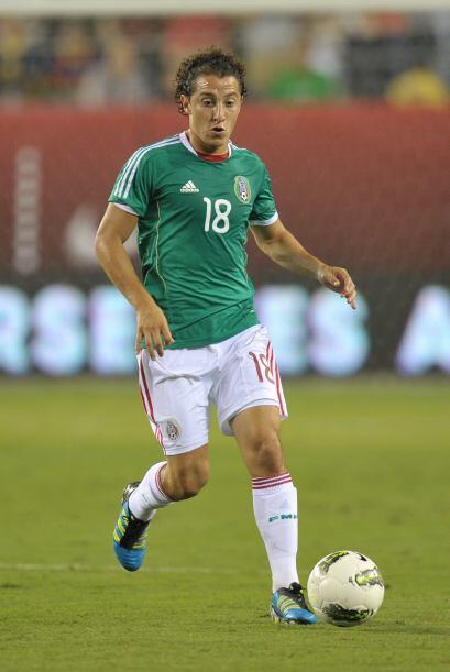 En España aseguran que Andrés Guardado jugará con V...