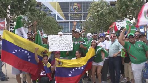 Pasión futbolera invade el NRG Stadium