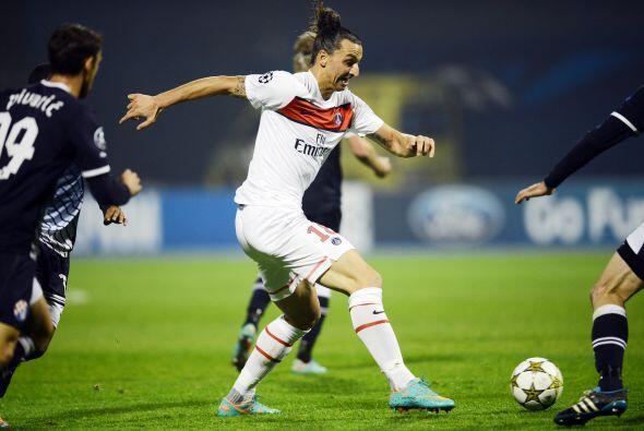 El poderoso París Saint-Germain se metió a la casa del Dinamo Zagreb.