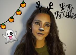 Para este Halloween conviértete en un filtro de Snapchat #NathLoUsa