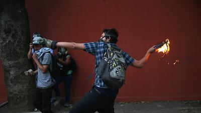 Las protestas en Venezuela no paran