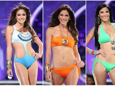Al finalizar la primera gala llegó el momento del bikini, ese que...