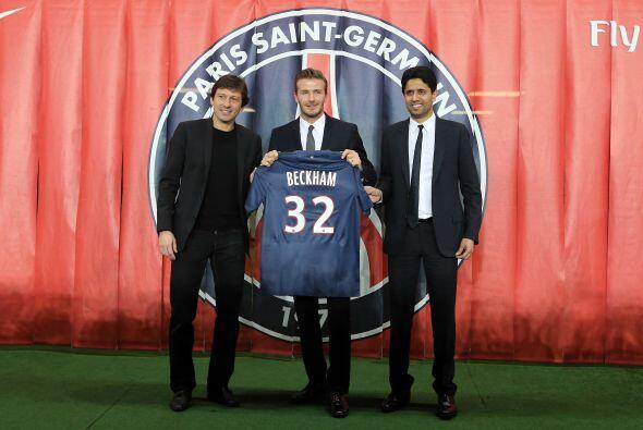 En el 2013 Beckham fitmó un contrato de 5 meses con el Par&iacute...