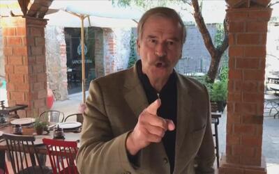 """Vicente Fox: """"Trump usted perdió, México y Peña Nieto ganaron"""""""