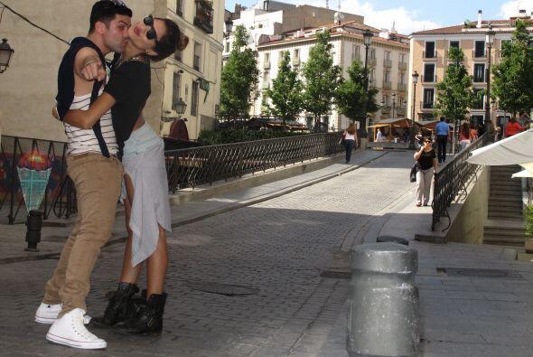 Los esposos aprovecharon este viaje para vivir unas vacaciones muy román...