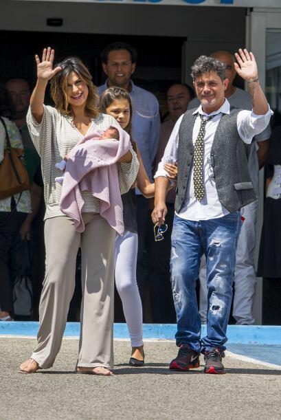 Sanz y Raquel Perera tienen ya un niño de 2 años, Dylan, quien también n...
