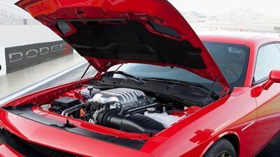 El V8 de 707 caballos de fuerza que equipa el Hellcat es un fuerte favor...