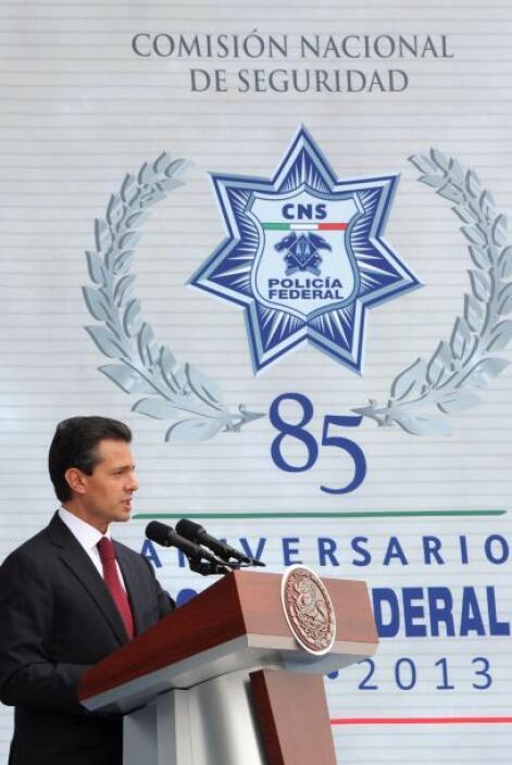 En el Centro de Mando de la Policía Federal, ubicado en Ciudad de México...