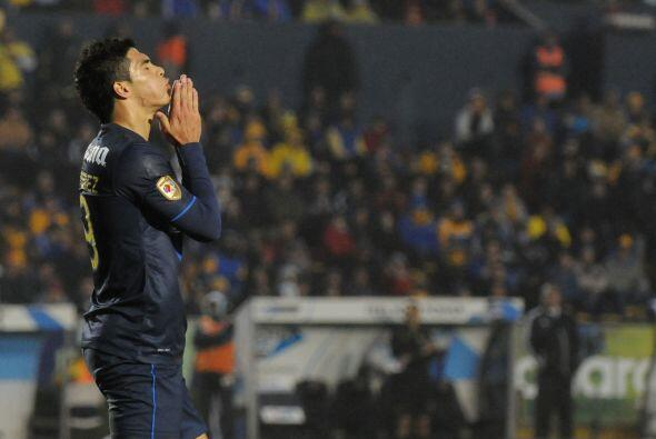 Raúl Jiménez no ha marcado con América desde la Jornada 13 ante Chivas c...