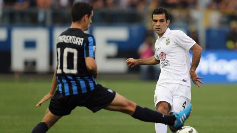 Márquez jugó todo el encuentro y su equipo sacó un punto.