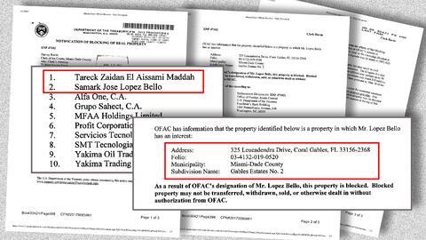 Notificación de bloqueo de propiedad: no puede transferirse, vend...