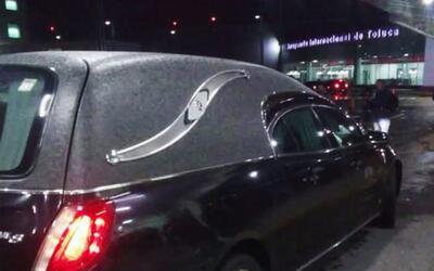 Imágenes de la carroza que supuestamente llevaba el cuerpo de Juan Gabri...