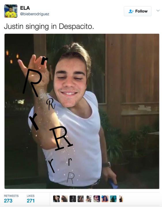 Justin Bieber sube al escenario a Luis Fonsi para cantar 'Despacito' en...