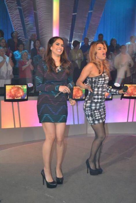 Las más divertidas eran Vanessa De Roide y Rosina Grosso que no pararon...
