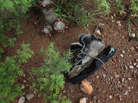 Este año, el número de inmigrantes muertos en el desierto de Arizona pod...